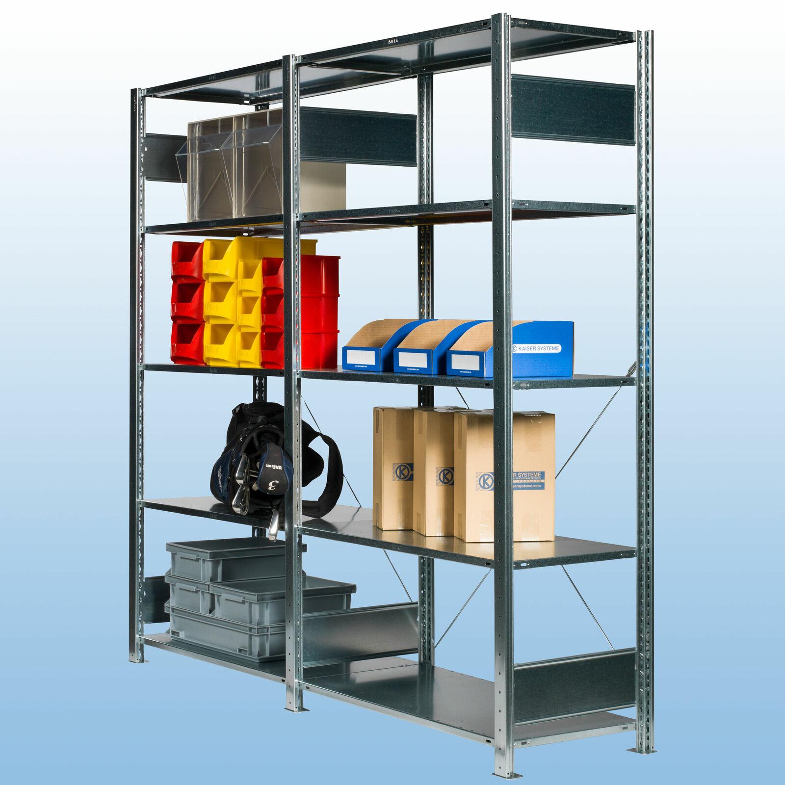 steckregal s20 verzinkt von kaiser systeme. Black Bedroom Furniture Sets. Home Design Ideas