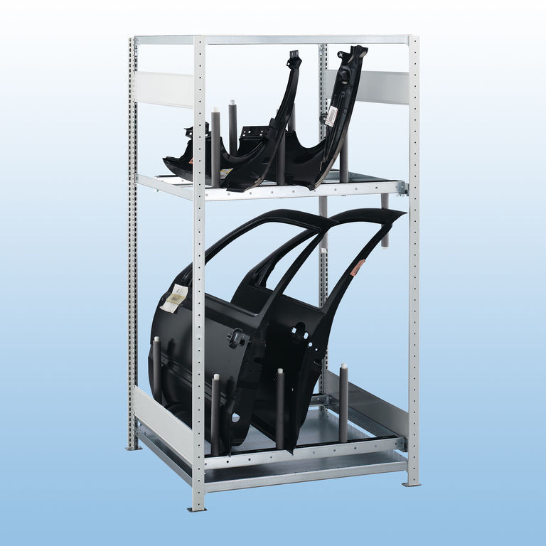 kfz einbausatz stehende lagerung kaiser systeme. Black Bedroom Furniture Sets. Home Design Ideas