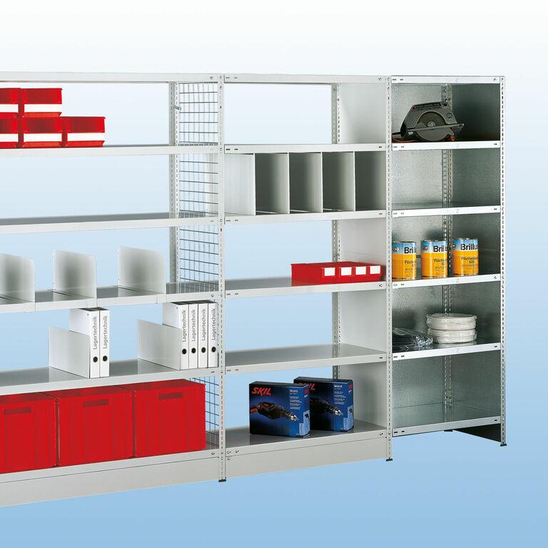 schraubregal schraubregale mit viel zubeh r. Black Bedroom Furniture Sets. Home Design Ideas